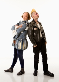 image of shakespeare and a punk