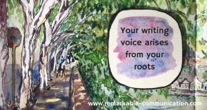 "The Art and Craft of Writing, Part 1: Where does ""writer's voice"" come from?"